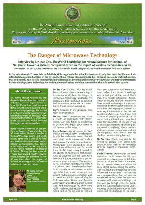 The Danger of Microwave Technology