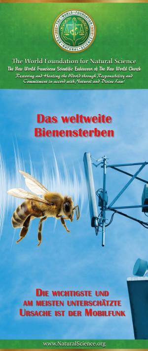 Das weltweite Bienensterben - Die wichtigste und am meisten unterschätzte Ursache ist der Mobilfunk (10er-Paket)