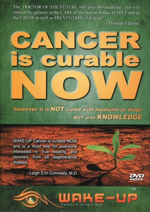 Cancer is curable NOW!