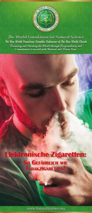 Elektronische Zigaretten: So gefählich wie Tabakzigaretten!  (10er-Paket)