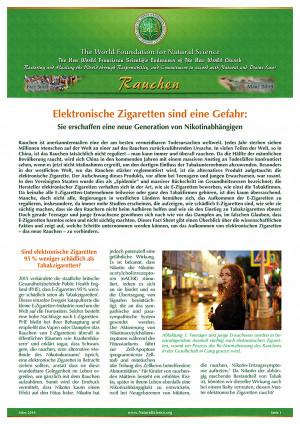 Elektronische Zigaretten sind eine Gefahr: Sie erschaffen eine neue Generation von Nikotinabhängigen